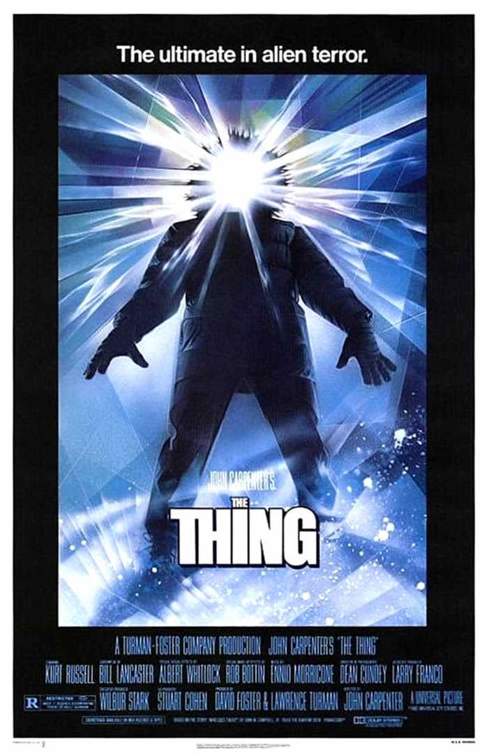 THE THING - Horror Movie Posters
