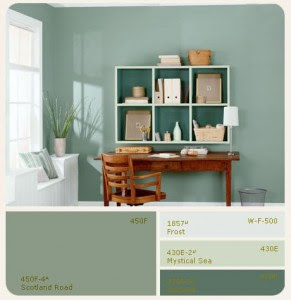 DesksHome Office Paint Colors Paint colors for walls and furniture ...