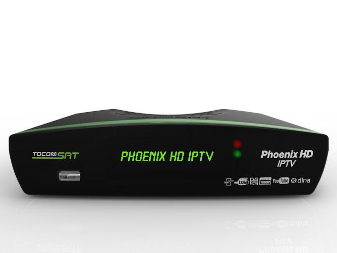 TOCOMSAT PHOENIX IPTV V01.002 - ATUALIZAÇÃO 20/12/2013