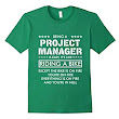Amazon.com: Project Manager Is Easy (white) T-Shirt: Clothing