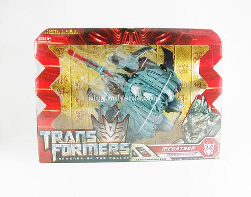 Transformers Megatron RotF Voyager - caja