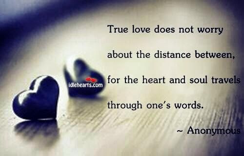 Romantic Quotes On Distance Love Quotes
