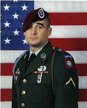 Brendan my son in his Army uniform!