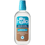 Hello Products - Naturally Healthy Antigingivitis Mouthwash - Natural Mint with Aloe Vera & Coconut Oil (16 Fluid Ounces) - Mouthwash & Rinse