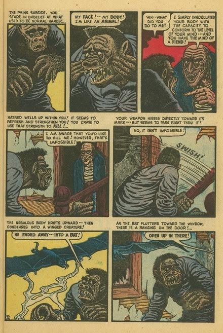 Basil Wolverton Swamp Monster Weird Mysteries 5 03
