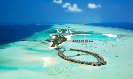 Maldives: 4 Nights For Two With Half Board and Transfers from AED 7950; or For Child from AED 350