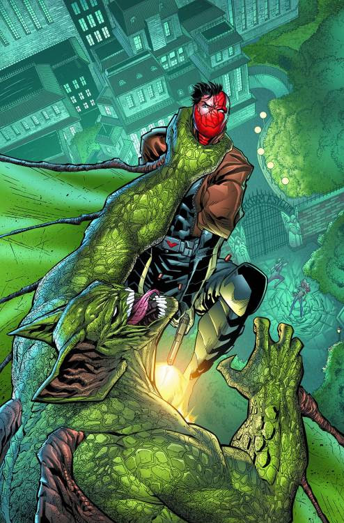RED HOOD AND THE OUTLAWS #38. Click to see more comic book art.