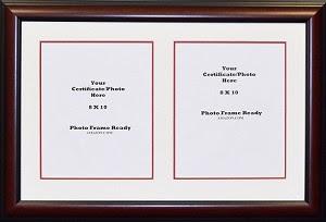 Graduation University Double 8x10 Certificates Or Photo Openings