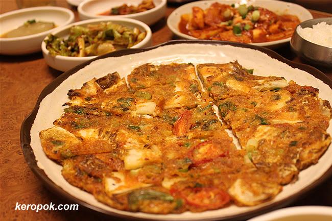 Kimchi Pan Cake