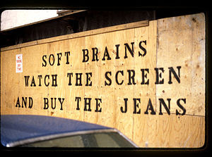 English: Soft Brains Watch The Screen And buy ...