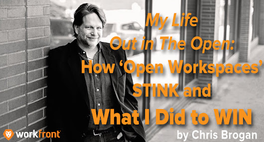 My Life Out in The Open: How 'Open Workspaces' Stink and What I Did to Win