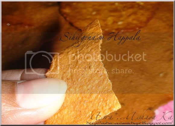 Sweet Potato Papad