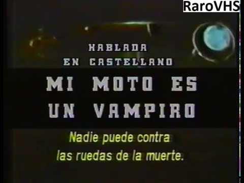 mi moto es un vampiro