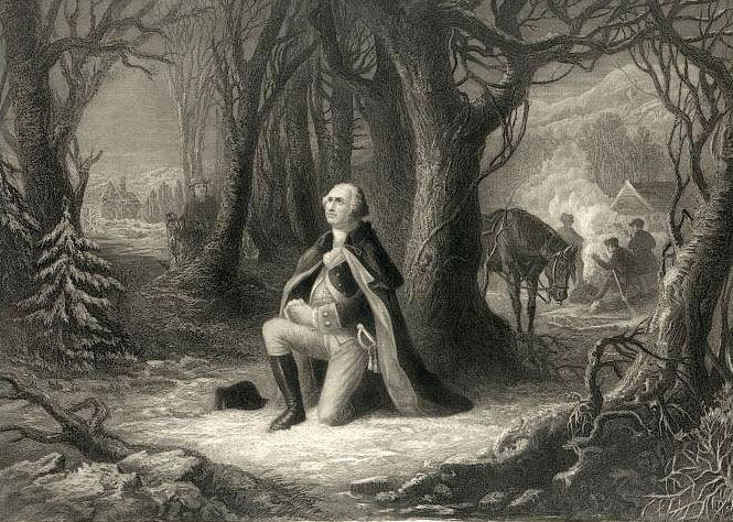 george washington prayer valley forge George Washingtons Thanksgiving Proclamation, 1789