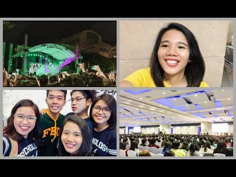String of Thoughts: Vlog: Doing Homework, Foundation Week, PAPJA 2017, Attending Concert