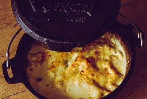 dutch oven gemuese lasagne grill bbq und gewuerze
