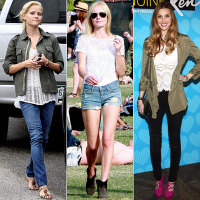 Kate Bosworth  and Reese Witherspoon  and Whitney Port
