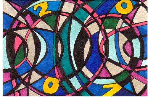 Postcard 2007 series - 2b