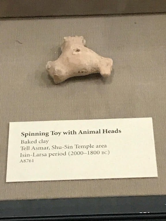 The world's first fidget spinner, circa 2000 BCE