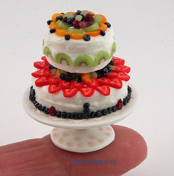 2tier cream cheese & fruit  5
