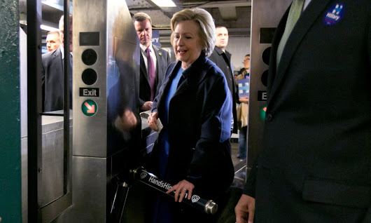 Hillary Clinton broke the rules on the NYC subway. That's not fair | Ali Gharib | Opinion | The Guardian