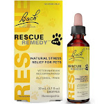 Bach Rescue Remedy Pet Natural Stress Relief for Pets Dropper 20 ml.