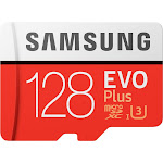 Samsung - EVO Plus 128GB microSDXC UHS-I Memory Card