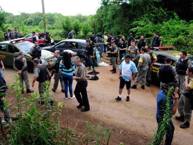 Foragido é preso após assalto a fábrica de joias na Serra (Foto: Guilherme Pulita/RBS TV)