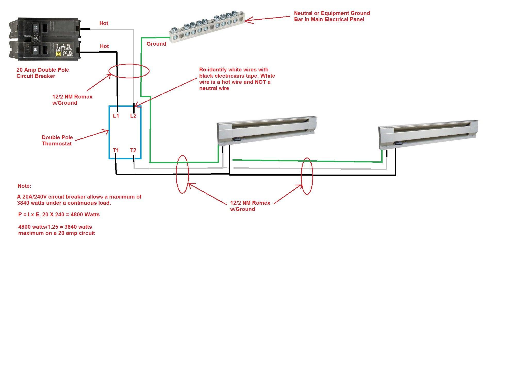 Diagram 120 Volt Baseboard Heater Thermostat Wiring Diagram Full Version Hd Quality Wiring Diagram Anklediagram1i Hoteldomusaurea It