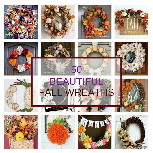 50 Beautiful Fall Wreaths You Can Make