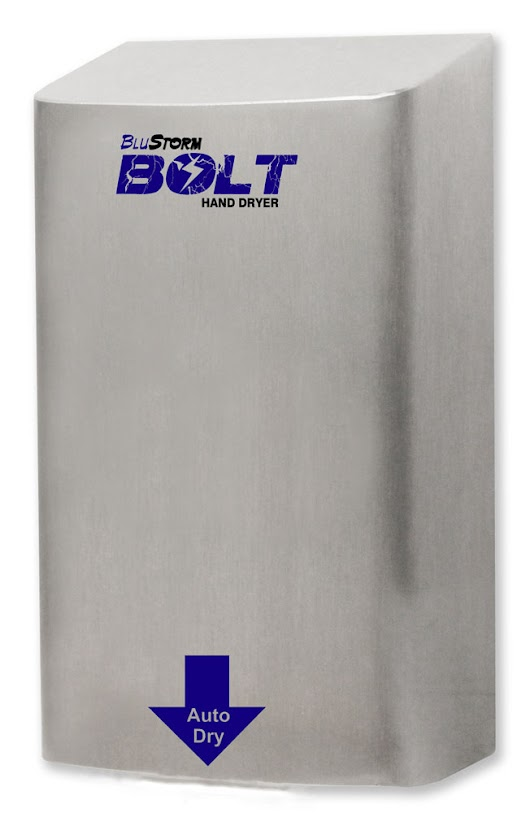 Introducing the BluStorm Bolt Hand Dryer by Palmer Fixture