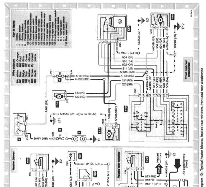 Citroen Saxo Vtr Engine Diagram