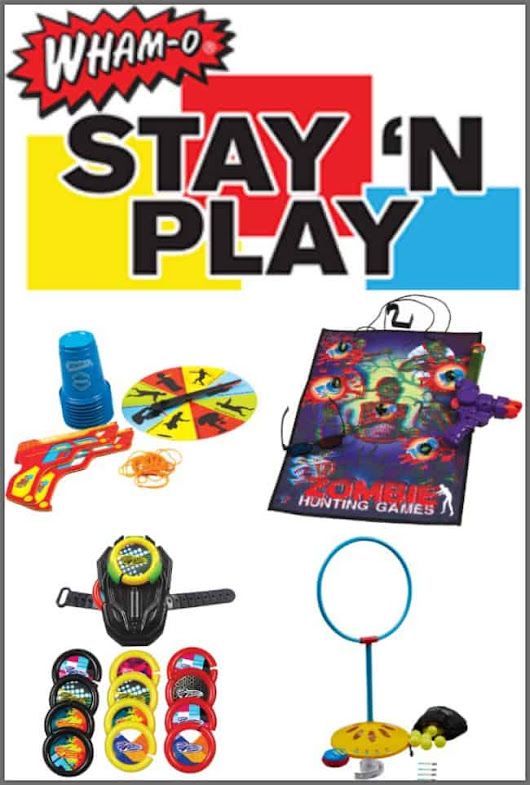 New and Addicting Games and Toys from Wham-O Stay 'N Play