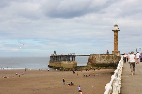 The pier at Whitby