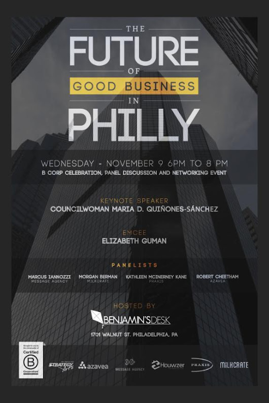 The Future of Good Business in Philly