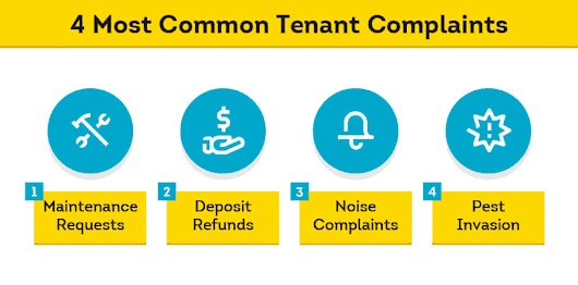 How to Handle the 4 Most Common Tenant Complaints | SmartMove