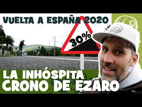 La INHÓSPITA crono de ÉZARO. Vuelta a España 2020. Ciclismo Vlog - Alfonso Blanco