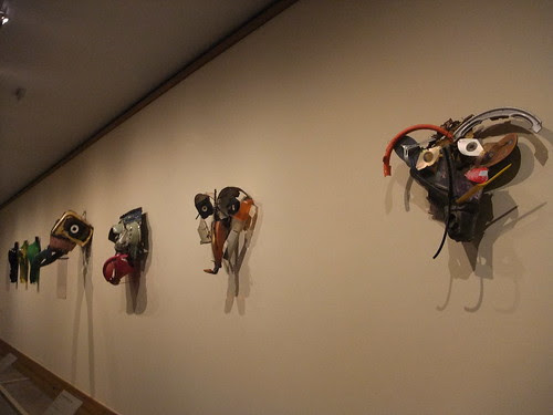 Met exhibit - contemporary masks