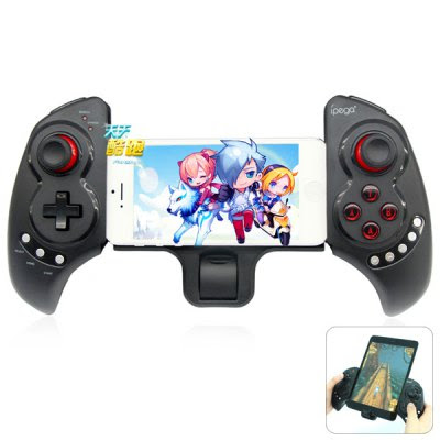 iPega PG - 9023 Practical Stretch Bluetooth Game Controller Gamepad Joystick with Stand-28.75 and Free Shipping| GearBest.com