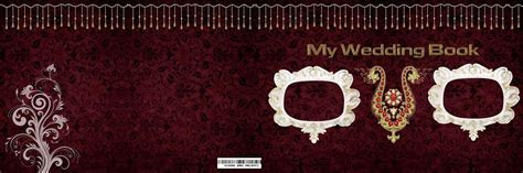 Free Photoshop Resources 12X36 Wedding Album Cover Page