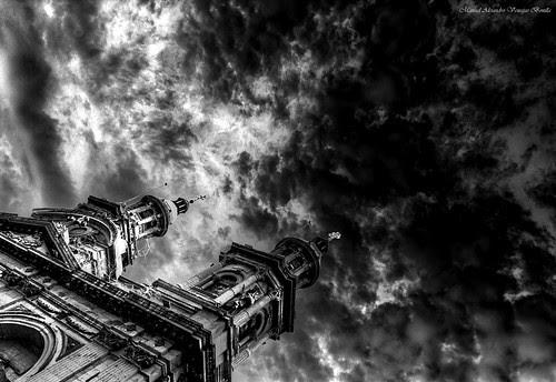 Catedral de Santiago, Chile. by Alejandro Bonilla