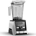 Vitamix Residential A3500 Ascent 10 Speed Blender w/ 64 oz Container - Brushed Stainless, 120v