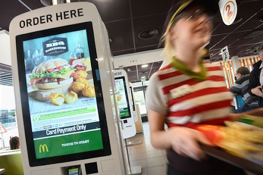 What McDonald's Move to Touch Screen Kiosks Really Means for the Service Industry