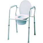 Graham-Field 71333310 Gray Commode Chair - Pack of 4