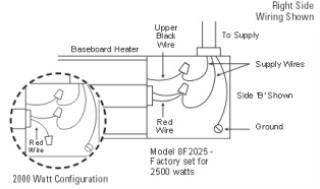 Wiring Manual PDF: 120 Volt Electric Baseboard Heater ...