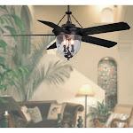 """Litex 52"""" Outdoor Ceiling Fan"""