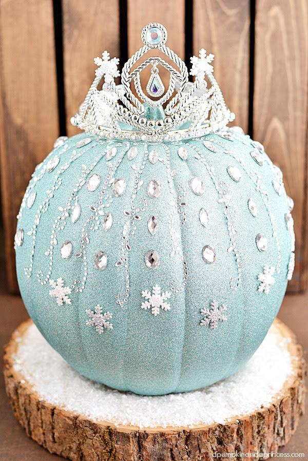 Disney Elsa Pumpkin Tutorial