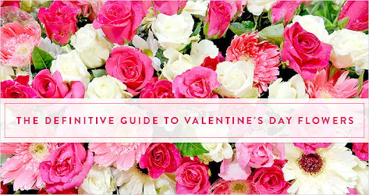 The 2017 Definitive Valentine's Day Flower Guide - The Gift Exchange Blog