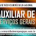 AUXILIAR DE SERVIÇOS GERAIS COM SALÁRIO  R$ 1045,00 PARA EMPRESA FITNESS NO RECIFE