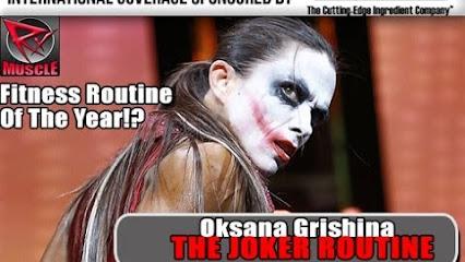 Oksana Grishina Joker Oksana Grishina Quot The Joker Quot